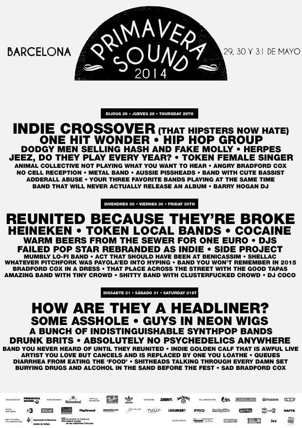 leaked primavera sound poster